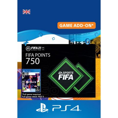 750 FIFA 21 FUT Points Pack - Digital Code - UK account
