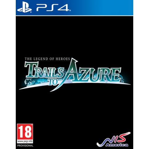 The Legend Of Heroes: Trails To Azure (PS4)