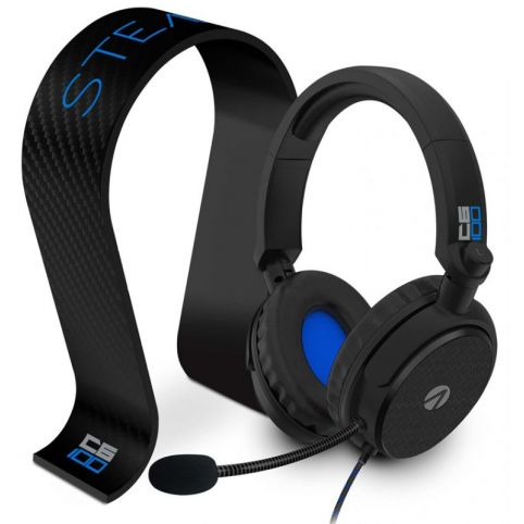 STEALTH C6-100 Stereo Gaming Headset & Stand - Black/Blue