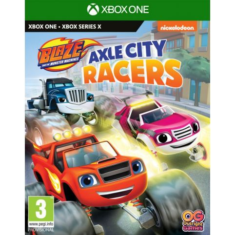 Blaze And The Monster Machines: Axle City Racers (Xbox One)