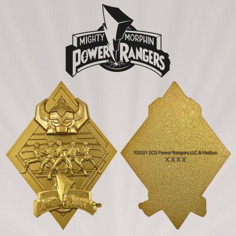 Power Rangers Limited Edition 24k Medallion