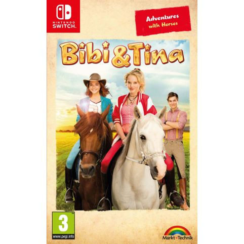 Bibi & Tina: Adventures with Horses (Switch)