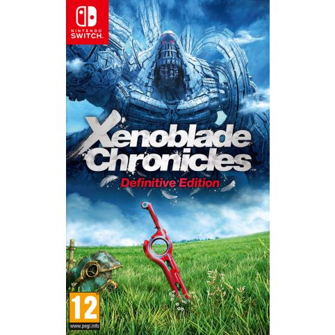 Xenoblade Chronicles: Definitive Edition with FREE Keyring & Poster (Switch)