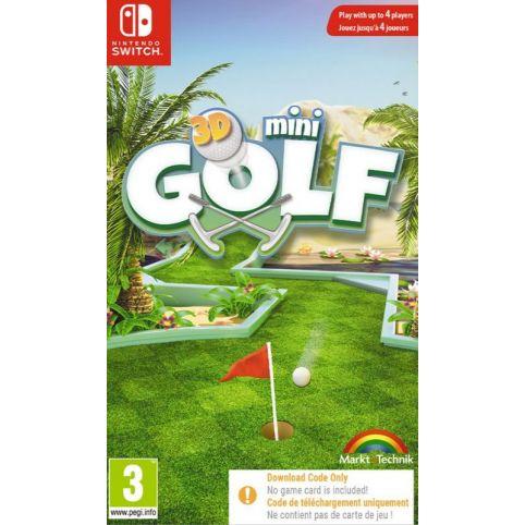 3D Mini Golf - Code In Box (Switch)