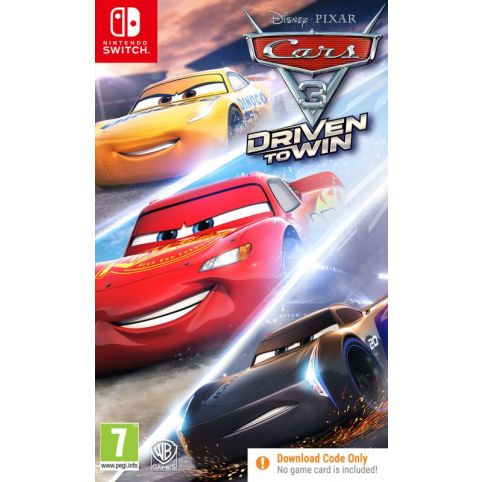 Cars 3: Driven to Win [Code in Box] (Switch)