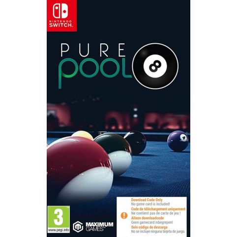 Pure Pool [Code In A Box] (Switch)