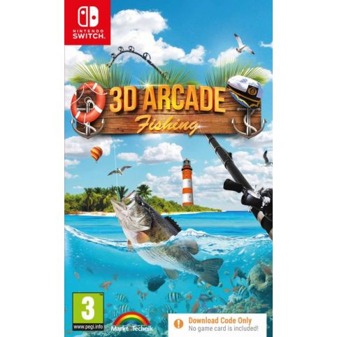 3D Arcade Fishing [Code In A Box] (Switch)