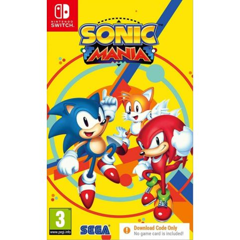 Sonic Mania [Code In A box] (Switch)