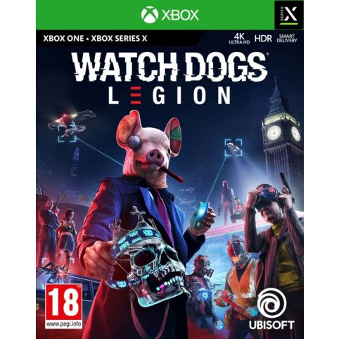 Watch Dogs Legion With Free Steel Book (Xbox One)
