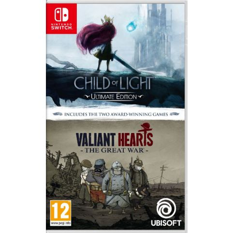 Child of Light and Valiant Hearts Double Pack (Switch)