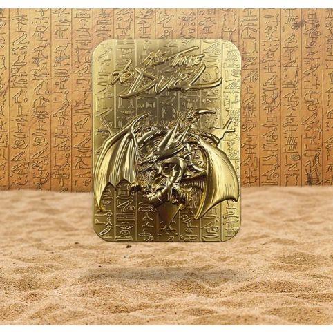 Yu-Gi-Oh! - Slifer The Sky Dragon 24K Gold Plated Metal God Card