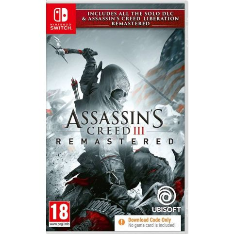 Assassin's Creed III Remastered [Code in box] (Switch)