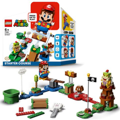 LEGO Super Mario Adventures With Mario Starter Course