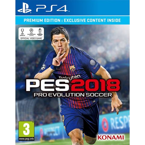 PES 2018 - Premium Edition (PS4)