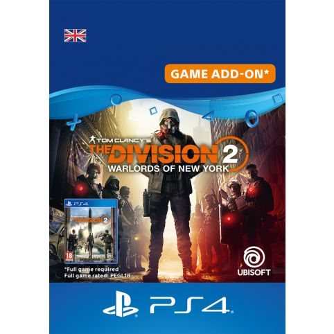 Tom Clancy's The Division 2 Warlords of New York Expansion - Digital Code - UK account