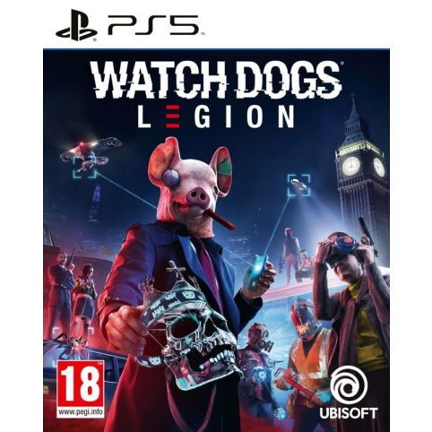 Watch Dogs Legion With Free Steel Book (PS5)