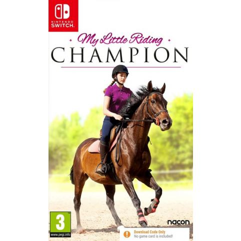 My Little Riding Champion [Code In A Box] (Switch)
