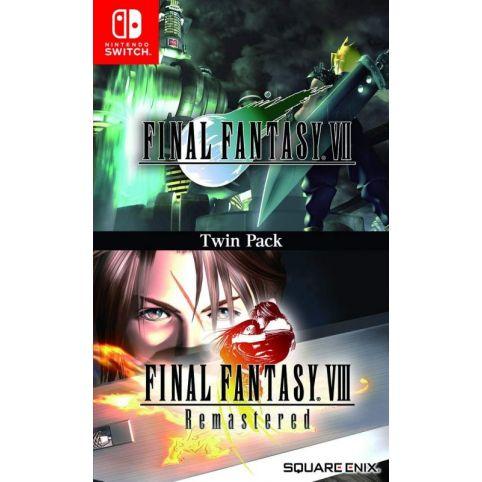 Final Fantasy VII And Final Fantasy VIII Remastered - Twin Pack [EN/FR] (Switch)