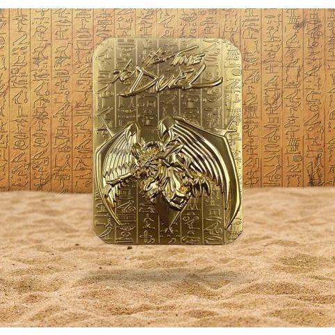 Yu-Gi-Oh! - Winged Dragon Of Ra 24K Gold Plated Metal God Card