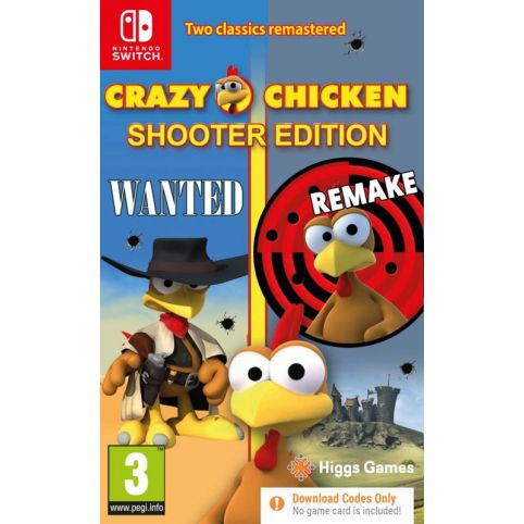 Crazy Chicken Shooter Edition [Code In A Box] (Switch)