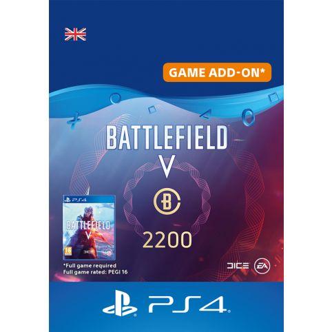 Battlefield V Battlefield Currency 2200 - Digital Code - UK account