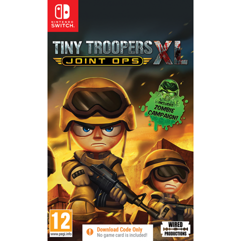 Tiny Troopers Joint Ops XL [Code In A Box] (Switch)