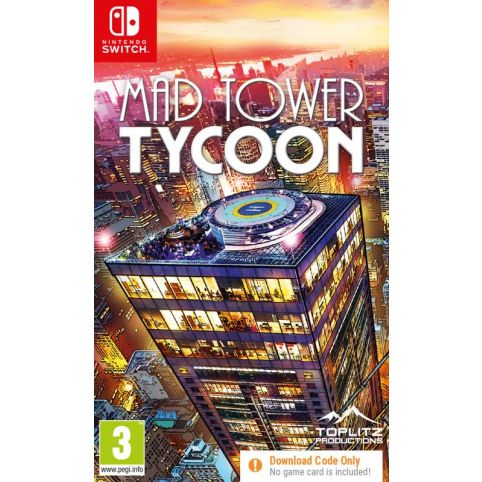 Mad Tower Tycoon [Code in a box] (Switch)