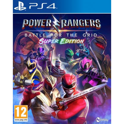 Power Rangers: Battle For The Grid - Super Edition (PS4)