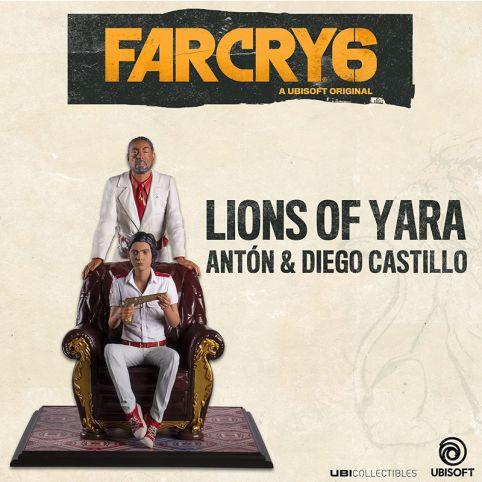 Far Cry 6: Anton & Diego Castillo - Lions Of Yara Statue