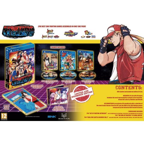 SNK Fighting Legends - Limited Edition (PS4)