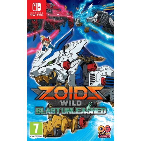 Zoids Wild Blast Unleashed (Switch)