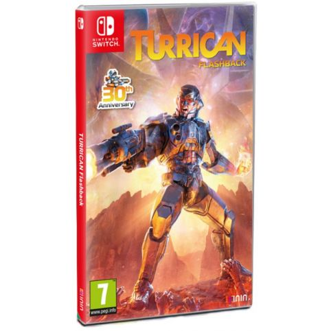Turrican Flashback (Switch)