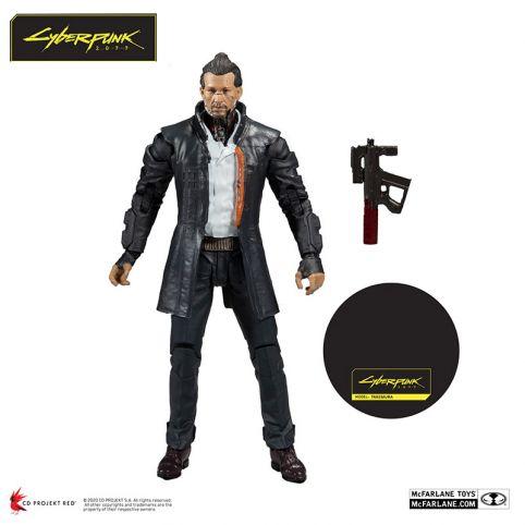 McFarlane Toys - Cyberpunk 2077 - Takemura - 18cm Action Figure