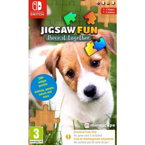 Jigsaw Fun - Piece It Together [Code In A Box] (Switch)