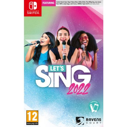 Let's Sing 2022 With Mic (Switch)