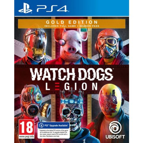 Watch Dogs Legion Gold Edition With Free Steel Book (PS4)