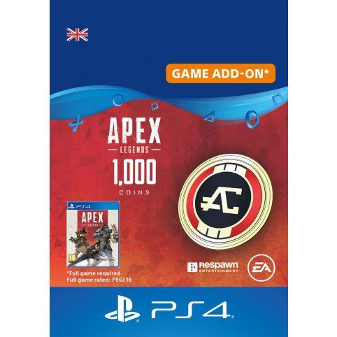 Apex Legends 1000 Apex Coins - Digital Code - UK account