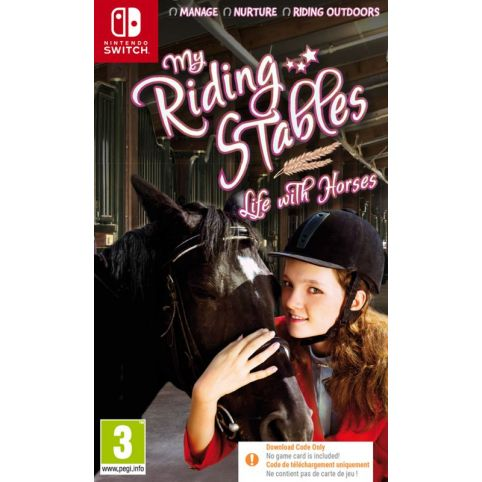 My Riding Stables: Life With Horses - Code In Box (Switch)