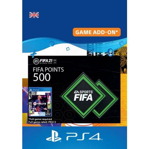 500 FIFA 21 FUT Points Pack - Digital Code - UK account