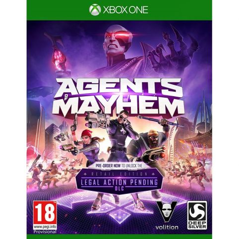 Agents of Mayhem - Day One Edition (Xbox One)