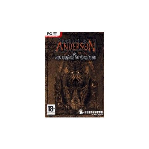 Anderson & The Legacy of Cthulhu (PC)