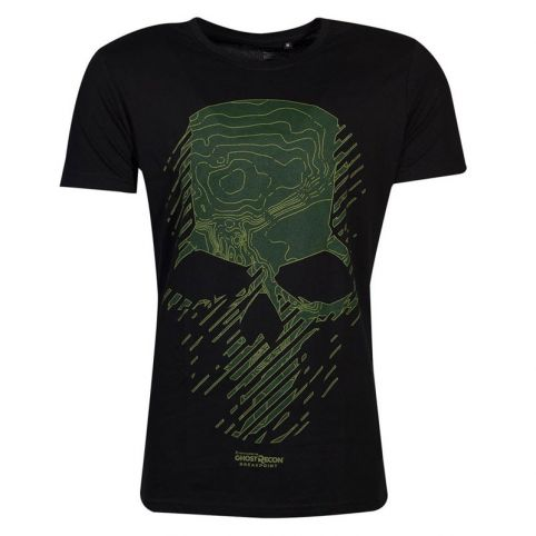 Breakpoint Topo Skull T-Shirt - Small