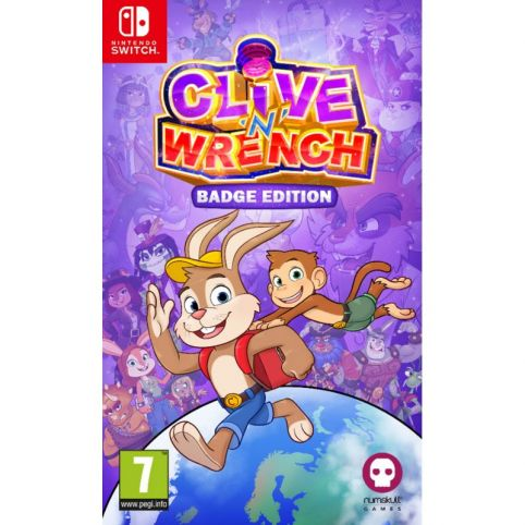 Clive 'n' Wrench Badge Collector's Edition (Switch)