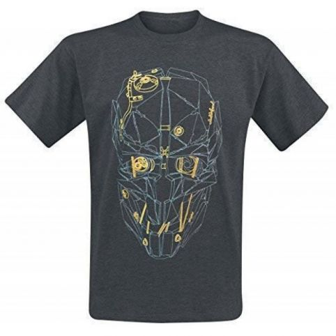 Dishonored 2: Corvo's Mask Gold T-Shirt (XL)