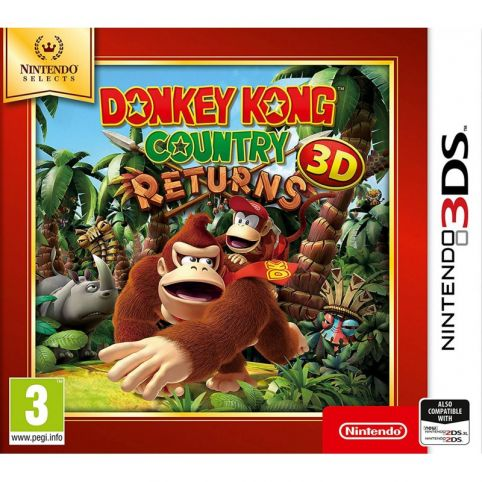 Donkey Kong Country Returns - Nintendo Selects (3DS)