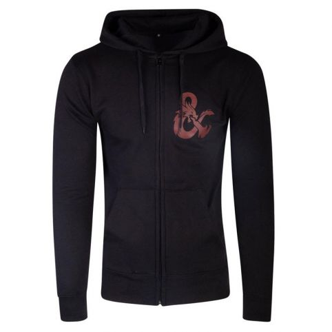 Dungeons & Dragons Iconic Logo Zipper Hoodie - Small