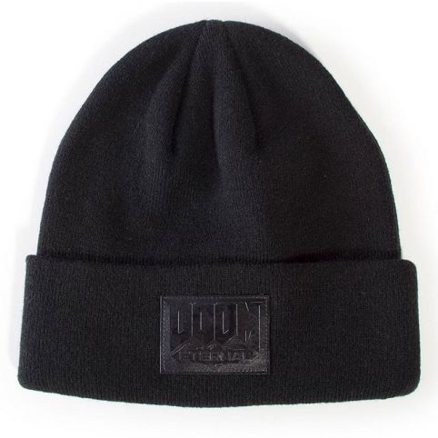 Eternal Retro Patch Logo Roll-up Beanie