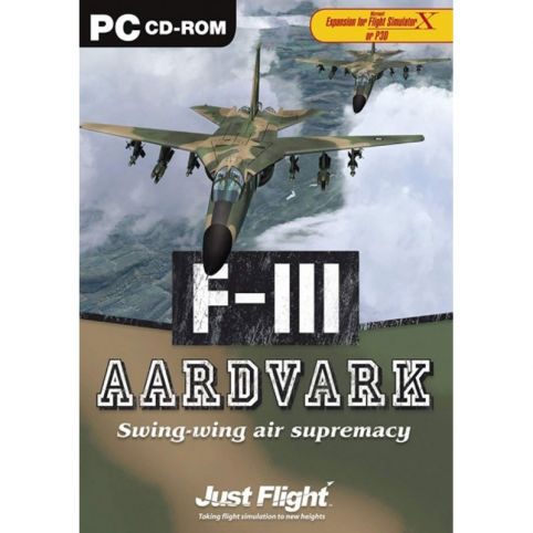 F-III Aardvark for FSX (PC)
