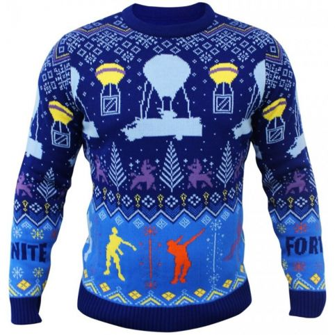 Fortnite Knitted Christmas Jumper - Extra Extra Large