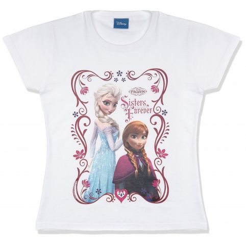 Frozen: Sisters Forever T-Shirt 7-8 Years